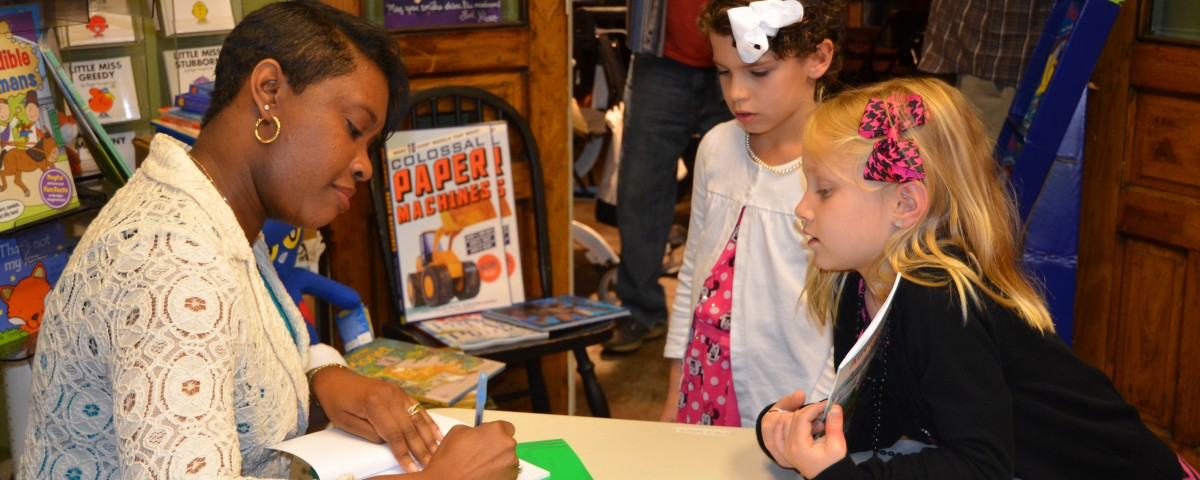 Book Reading/Signing Foxtale Book Store 2015